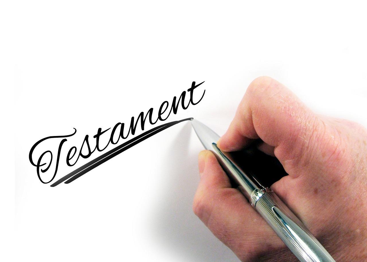 Das Testament Mein Letzter Wille Vorlagen Muster