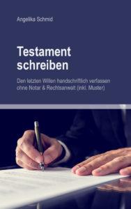 Handschriftliches Testament mit Vorlage schreiben