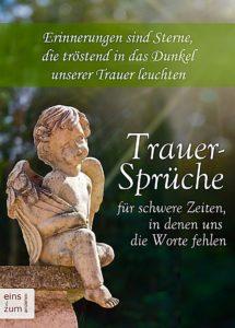 Cover Buch Trauersprüche Für Schwere Zeiten,