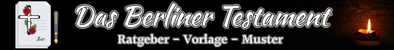 Berliner Testament Banner